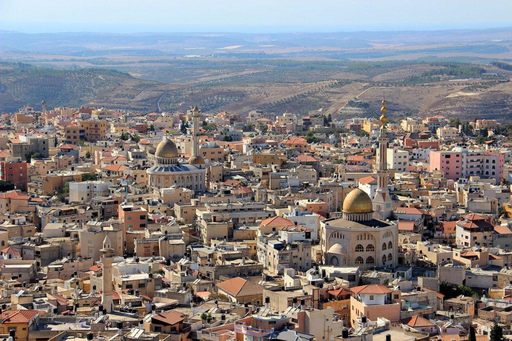 Aerial photo of Umm Al-Fahm